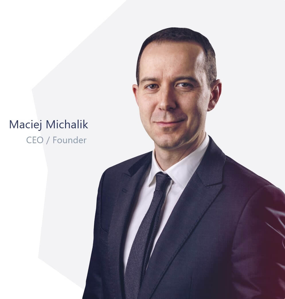 Maciej Michalik - CEO / Founder
